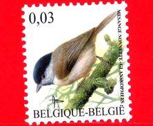 Nuovo - MNH - BELGIO - 2005 - Uccelli Di Buzin - Cincia Bigia - Parus Palustris - 0.03 - 1985-.. Birds (Buzin)