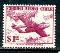 Chili 1956 Y&T PA 164 ** - Chili