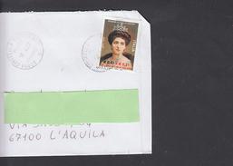 ITALIA 2002 - Lettera Con Sassone 2611 - Lotta Tumori Al Seno - Malattie