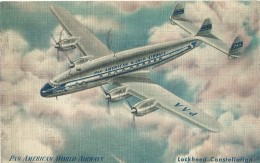 Pan American World Airways - Lockheed Constellation - 1948 - 1946-....: Moderne