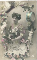 Kat Chat Cat Katze - Joyeux Noël - 3105 - 1914 - Gatos
