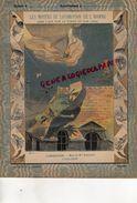 PROTEGE CAHIER-N° 4-  MOYENS LOCOMOTION HOMME-AEROSTATION-MONTGOLFIERE BALLON -MORT DE MME BLANCHARD A PARIS 1819 - Transports
