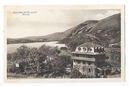 AIGUEBELETTE Le LAC  (cpa 73)  Hôtel Bellevue -   -  L 1 - Autres Communes