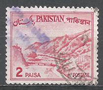 Pakistan 1964. Scott #130b (U) Khyber Pass - Pakistan