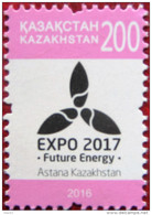 Kazakhstan 2016    Expo 2017  1v  MNH - Kasachstan