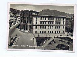SALERNO - PIAZZA S. FRANCESCO E LICEO - EDIZ. CATANEO - 1952 ( 1483 ) - Salerno