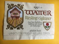 6487 - Watter Riesling X Sylvaner 1990 Suisse - Sonstige