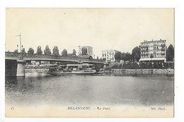 BILLANCOURT  (cpa 92)   Le Pont -   -  L 1 - Francia