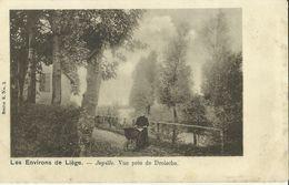 Les Environs De Liège -- Jupille - Vue Près De Droische.      ( 2 Scans ) - Liege