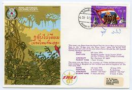 THAILAND : ROYAL AIR FORCES ESCAPING SOCIETY : ROYAL THAI AIR FORCE BASE - KAMPHAENG / BRIDGE OVER THE RIVER KWAI - Thaïlande