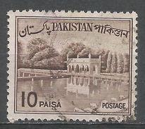 Pakistan 1963. Scott #134a (U) Shalimar Gardens, Lahore - Pakistan