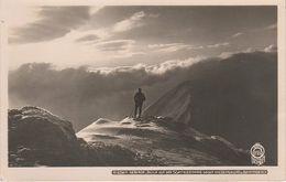 AK Walter Hahn 7051 Riesengebirge Blick Schneekoppe Snezka Riesengrund Brunnberg Winter A Petzer Aupa Krummhübel Dresden - Sudeten