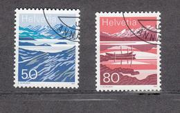 1991    N° 819-820  OBLITERES     CATALOGUE  ZUMSTEIN - Suisse