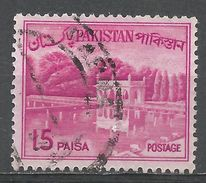 Pakistan 1964. Scott #135B (U) Shalimar Gardens, Lahore - Pakistan