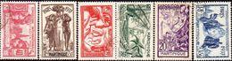 Détail De La Série Exposition Internationale De Paris Obl. Martinique N° 161 à 166 - 1937 Exposition Internationale De Paris