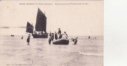 CPA -  FORT MAHON PLAGE - Départ Pour La Promenade En Mer - Fort Mahon