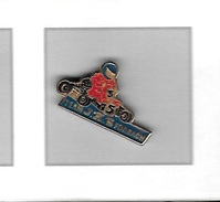 Pin's  Automobile  Karting, TEAM  J A S  FORBACH  ( 57 ) - Badges