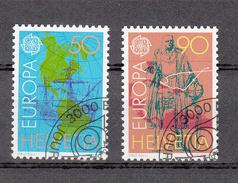 1992    N° 826-827  OBLITERES      CATALOGUE  ZUMSTEIN - Suisse