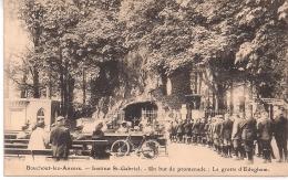 """BOUCHOUT LEZ ANVERS-BOECHOUT """" INSTITUT ST.GABRIEL-UN BUT DE PROMENADE :LA GROTTE D'EDEGHEM"""" - Boechout"""