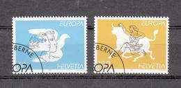 1995    N° 880-881    OBLITERES      CATALOGUE  ZUMSTEIN - Suisse
