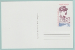 C12.  Entier Postal  Charles De Gaulle  ** TB  St-Pierre Et Miquelon - Postal Stationery