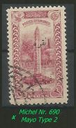 TURKEY , EARLY OTTOMAN SPECIALIZED FOR SPECIALIST, SEE...Mi. Nr. 690 -Type  B - 1920-21 Anatolie