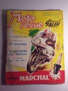 Moto Revue N° 1560 Octobre Special Salon 1961 - Auto/Moto