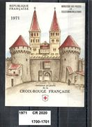Carnet Croix-Rouge De 1971 Neuf ** Y&T N°  CR 2020 (1700-1701) - Carnets