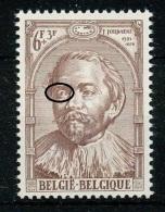 [104247]N° 1289-v, Jacob Jordaens, Blessure à L'oeil Droit Et Manquements Autour De La Tête. - Plaatfouten En Curiosa