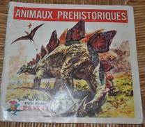 Rare Album Panini Les Animaux Préhistoriques Complet - Panini