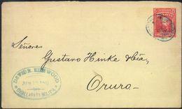 Bolivia 1905 CEFILCO #ES7 Challapata - Oruro. Ambulante Por Ferrocarril. See - Bolivia