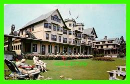 POINTE AU PIC, QUÉBEC - HOTEL CHATEAU MURRAY - CIRCULÉE EN 1962 - W. SCHERMER - - Quebec