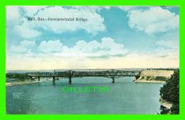 HULL, QUÉBEC - INTERPROVINCIAL BRIDGE - - Autres