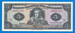 N. 1 Banconota - BANCO  CENTRAL  DEL  ECUADOR . Anno 1988 - Ecuador