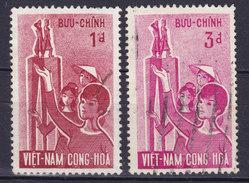 Vietnam South 1963 Mi. 281-82   Schwestern Tru'ng - Vietnam