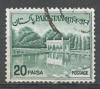 Pakistan 1970. Scott #135C (U) Shalimar Gardens, Lahore - Pakistan
