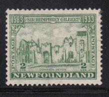 Newfoundland 1933 Used Scott #213 2c Compton Palace - 1908-1947