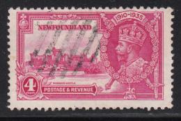 Newfoundland 1935 Used Scott #226 4c George V Silver Jubilee - 1908-1947