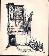 MENU - Association Des Anciens Prisonniers De Guerre Des Oflags VI D Et   III C  - 1959 - Cie De Navigation Mixte - ORAN - Menu