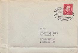 "11 140 Briefhülle Bahnpost ""AACHEN-HAGEN(WESTF.)"" UB ""c"" 1961 - [7] Federal Republic"