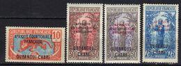 Oubangui N° 63 - 66 * - Ubangi (1915-1936)