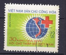 Vietnam Socialist Republic Mi. 865 12 Xu Red Cross Rotes Kreyuz Croix Rouge - Vietnam