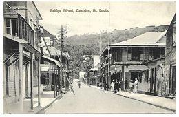 SAINTE LUCIE - CASTRIES - Bridge Street - Sainte-Lucie