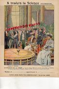 PROTEGE CAHIER-IMPRIMERIE DUCOURTIEUX LIMOGES-TRAVERS LA SCIENCE- ROTATION TERRE-1902 PANTHEON FOUCAULT  -CHARIER SAUMUR - Transport