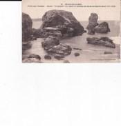 31 Belle Ile En Mer Pointe Aux Poulains Rocher Le Sphinx Sur Lequel Le Tombeau De Sarag Bernardt Devait être édifié - Belle Ile En Mer
