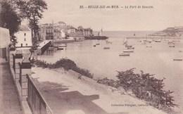 23 Belle Ile En Mer Le Port De Sauzon - Belle Ile En Mer