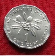 Jamaica 1 Cent 1987 FAO  F.a.o.  Jamaique Jamaika UNCºº - Jamaica