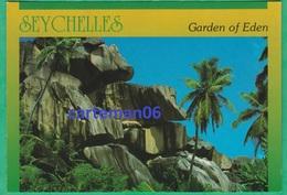 Seychelles - Garden Of Eden - La Digue - Rocks At Grand Anse - Seychelles