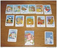 Jeu De Cartes 7 Familles Marmouset Visite Les Pays + Boîte 1991 - Cartes à Jouer