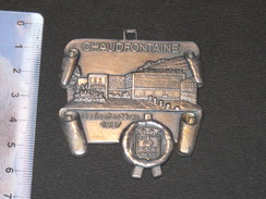 MEDAILLE DE CHAUDFONTAINE,  CASINO FONDE EN 1937 - Touristiques